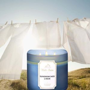 "NEW ""Sundrenched Linen"" Candle"